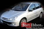 Peugeot 206 SW onderdelen gebruikt en nieuw online in de catalogus