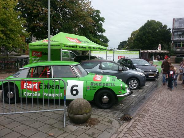 Bart Ebben Citroen DS Rally op Molenhoekdag 2013