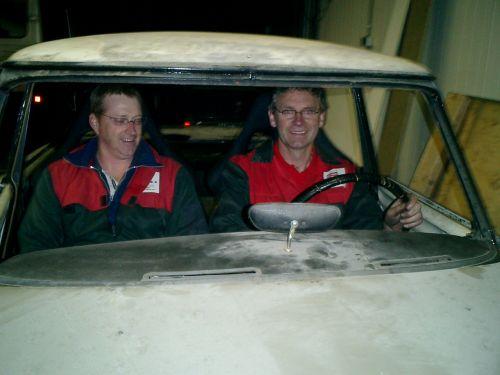 Racekuip stoelen Citroen DS Classic Rally