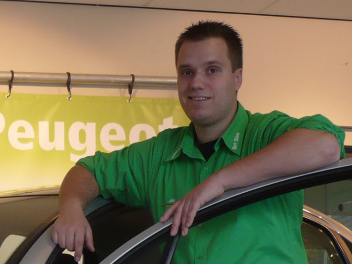 Jan Veltman, Auto verkoper Bart Ebben Specialist Citroen Peugeot