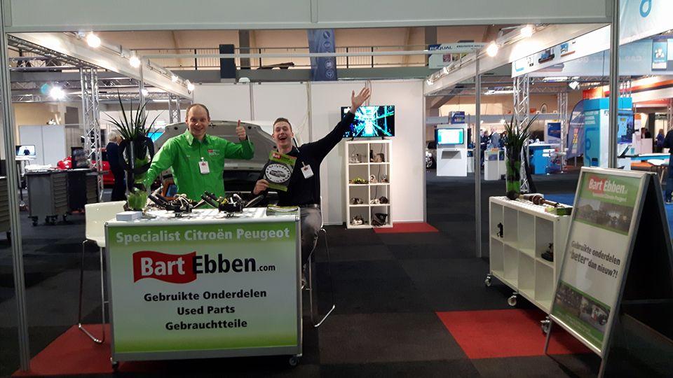 Bart Ebben Specialist Citroen Peugeot gebruikte onderdelen op AMT Live beurs 2016