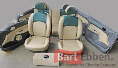 Citroen peugeot autostoel onderdelen tweedehands los leverbaar