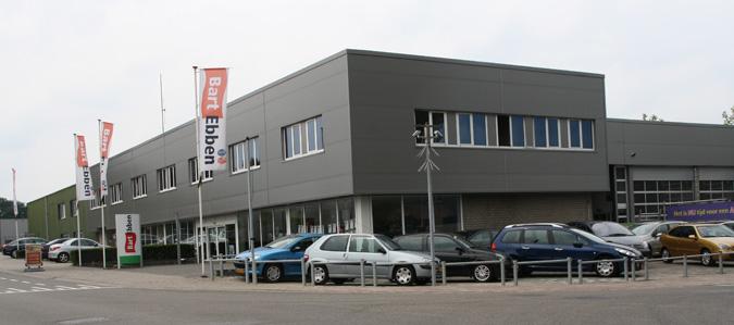 Bedrijfspand Bart Ebben Specialist Citroen Peugeot tweedehands onderdelen Malden