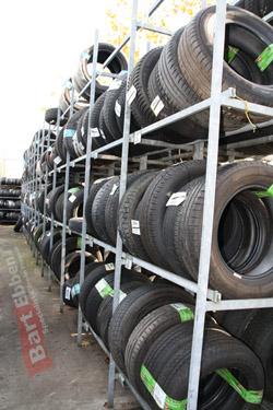 Grote voorraad tweedehands autobanden in Malden regio Nijmegen